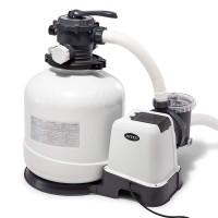 Filter Kolam Renang Intex Krystal Clear Sand Filter Pump 1000L per Jam