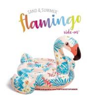 Pelampung Ban Renang Tropical Flamingo Floaties Ride On