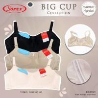 Bra Sorex Big Cup - BH Wanita Polos Busa Tipis Tanpa Kawat 01005