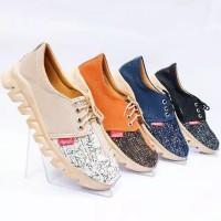 Sepatu Sneakers Tali Casual Shoes Docmart Murah Sepatu Sekolah DH06