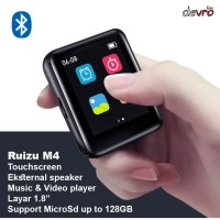 MP3 Player - DAP - MP4 Player - Touchscreen 1.8 - 8GB - Ruizu MP4