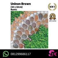 Keramik Lantai Teras 30x30 Union Brown