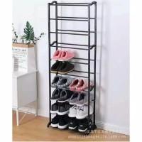 Amazing Shoes Rack/Rak Sepatu 10 Susun Serbaguna