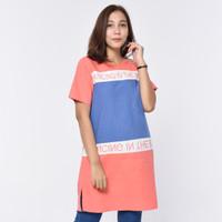 VERY ME 7452 Kaos Wanita Tunik Lengan Pendek Atasan cewek Premium