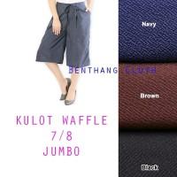 Celana Pendek Kulot jumbo 7-8 Fit XL-XXL BB 55-85kg