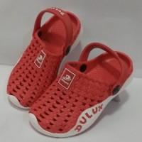 Sepatu Sandal Casual Anak S24-35 Sepatu Karet Model Crocs Merk Dulux