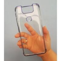 Case Asus Zenfone 6 ZS630KL Soft Plating Premium - Biru