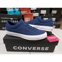 Sepatu Casual Converse Cons One Star Skate Utility Navy Original