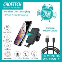 CAR WIRELESS CHARGER CHOETECH T541 FAST CHARGING