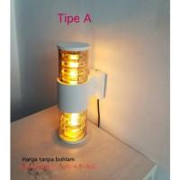 LAMPU DINDING TAMAN WATERPROOF E27 PAGAR WALL LAMP OUTDOOR ANTI HUJAN