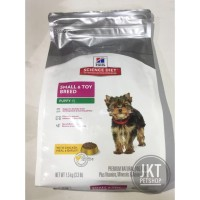 Science Diet Puppy Small & Toy Breed 1.5kg Makanan Anakan Anjing