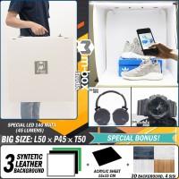 LED Photo Studio - Light Mini Box Studio - Lampu Foto Produk (LARGE)