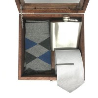 Baru Houseofcuff Groomsmen box bestman cufflinks dasi wedding bowtie