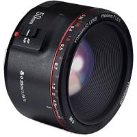 Lensa Yongnuo YN 50mm F1.8 II for Canon Black