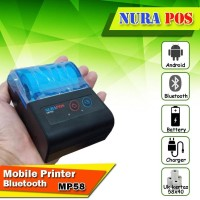 MOBILE PRINTER THERMAL BLUETOOTH NURSPOS MP-58BT RPP02N |MINI PRINTER