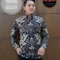 Kemeja Batik Baju Batik Pria Original Solo Size M-XXL New Premium
