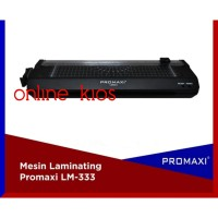 PROMAXI LM 333 size A4 F4 & A3 Mesin Laminating & Paper Cutter LM333