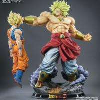 Tsume Art HQS Dragon Ball Broly with Goku and Extra Bust with Energy