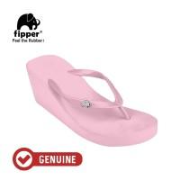 Fipper Wedges / Sandal Wanita / Pink Light