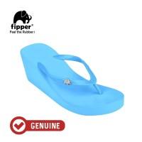 Fipper Wedges / Sandal Wanita / Blue Sky