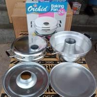 cetakan kue bolu /baking pan ukuran 24