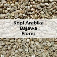 Green Bean Arabica Bajawa Flores - Biji Kopi Mentah - 500 gr