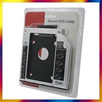 TERBARU HARDDISK CADDY 9 5MM SLIM SSD SATA FOR LAPTOP NOTEBOOK HDD