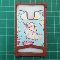 Case Advan Tab i7A 7inch Casing Tab Advan Karakter Gambar Unicorn