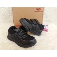 Sepatu Sneaers Anak - New Era Jacko 02 K Hitam - Sepatu Murah