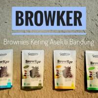 Brownies Kering / Browker / Kue Brownies / Snack Kekinian