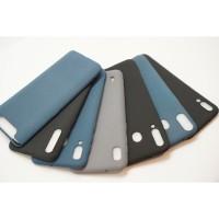 Jelly Scrub SoftCase Case Samsung A10 A30 A50 A80 Case M10 M20 M30 M40 - Hitam, A50