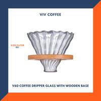 V60 Coffee Dripper Saringan Kopi Dripper 2-4cups
