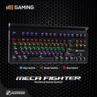 Digital Alliance Meca Fighter LED Rainbow - Mechanical Gaming Keyboard
