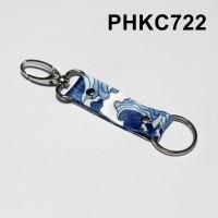 gantungan kunci tali sublim - keychain landyard kain - PHKC722