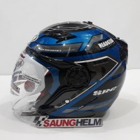 HELM NHK GLADIATOR TOURING BLUE SILVER