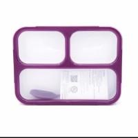YOOYEE LEAK PROOF GRID LUNCH BOX SEKAT 3 / KOTAK MAKAN ANTI TUMPAH