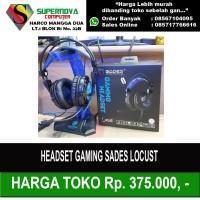 Headset Gaming Sades Locust