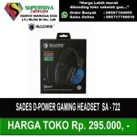 Sades DPower Gaming Headset SA - 722