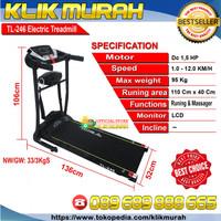Resmi, Treadmill Elektrik Total TL 246 / Treadmill 2 Fungsi 1.5HP