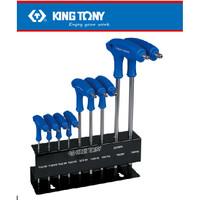 KUNCI L SET - .TR TORX L-WRENCH SET T10H-T50H KING TONY 9PC- 022319PR