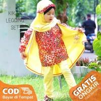 eLBi Kikan Legging Set - Baju Muslim Balita - Blouse Batik Balita