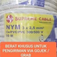 KABEL SUPREME NYM 3x2,5 mm 50meter GOJEK ONLY 3x2,5 3 x 2.5