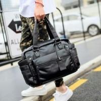 Travel bag, tas laptop, murah n bisa custom bahan kulit asli