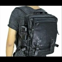 Tas ransel, tas laptop, bahan 100% kulit asli, murah n bisa custom