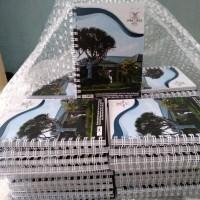 Custom Notebook ukuran A6(10x14cm) isi bergaris