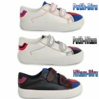 Sepatu Sneakers Anak Perempuan / Kets Sekolah TK / Akatie kids import