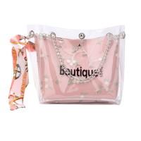 Inone Tas slempang Sling Bag Jelly Transparant Fashionable