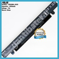 Original Baterai Asus X450 X450C X450CA X450V X452 A41-X550 A41-X550A