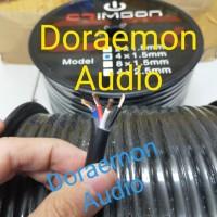 kabel speaker crimson isi 4 x 1.5mm 100m murah