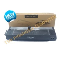 Promaxi LM333 Mesin Laminating LM-333 Ukuran A3 + Paper Cutter Rotary